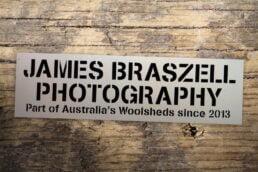 Bumper Sticker - James Braszell Photography