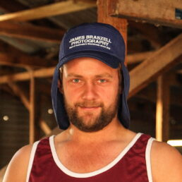 Legionnaire Hat (Front) - James Braszell Photography