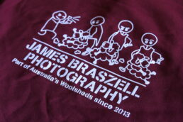 Shearer Hooded Multitop Stick Figures (Back) - James Braszell Photography