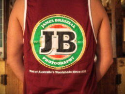 Shearer Singlet JB Label (Back) - James Braszell Photography