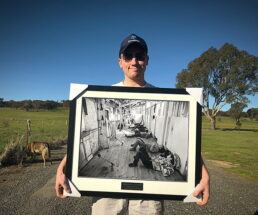 Photography Prints - Shearers Rest At Wurrook - James Braszell Photography