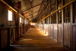 Shearing Board East Loddon Woolshed - James Braszell Photography